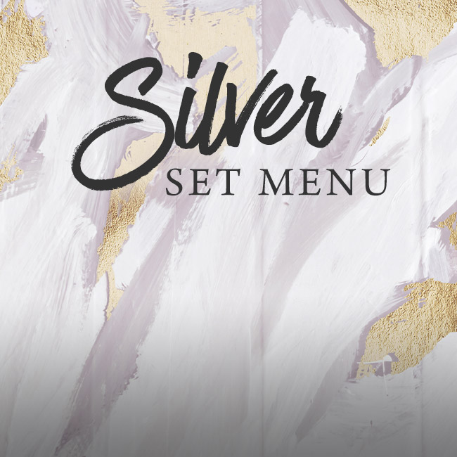 Silver set menu at The Midland