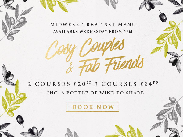 Midweek treat at The Midland - Book now